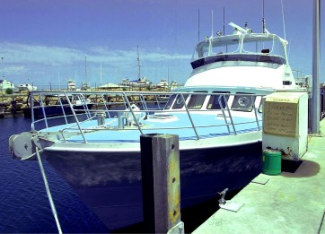 EASYTREAD featured on the deck of a Fisheries patrol vessel