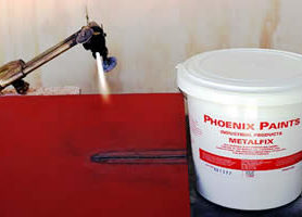 METALFIX does not burn during cutting and virtually no fumes are given off.