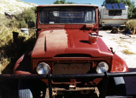 A rusted ute as good as new after the METALFIX treatment