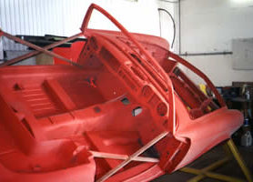Vintage Mercedes in NZ primed with METALFIX 1000.